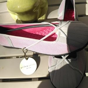 NWT!! Privo by Clarks Penny Ballerina Shoes